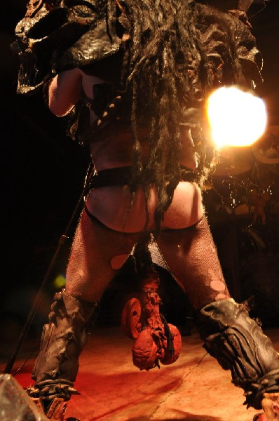 GWAR at Mess With Texas Fest 2010 Austin, Texas 03/20/10