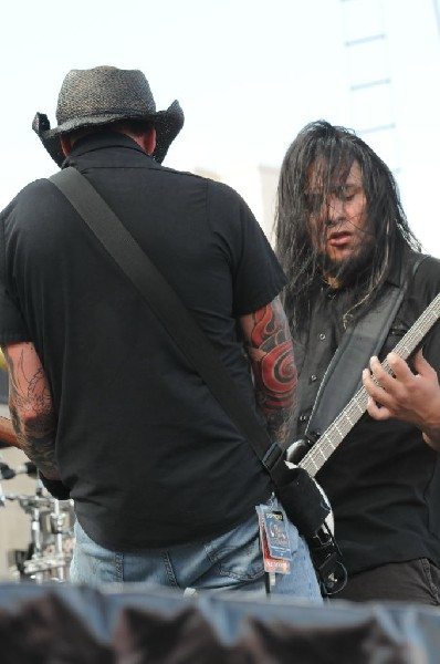Hellyeah at Ozzfest 2008, Pizza Hut Park, Frisco, Texas