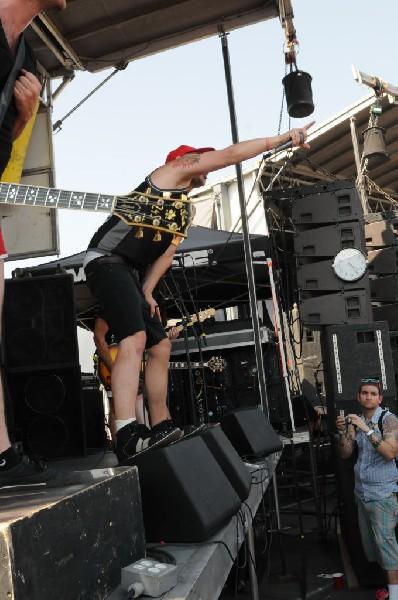 Hit The Lights at Warped Festival, San Antonio, Texas