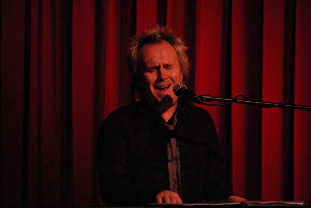 Howard Jones  at the Cactus Cafe