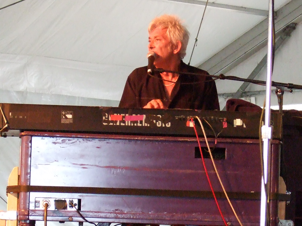 Ian McLagan at ACL Fest in 2006