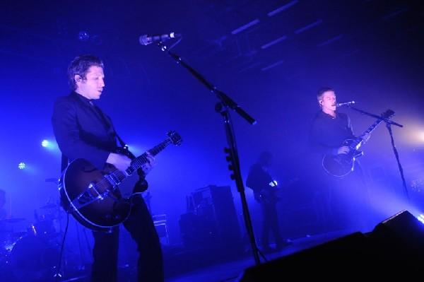 Interpol at the Austin Music Hall, Austin, Texas April 21, 2011 - photo by