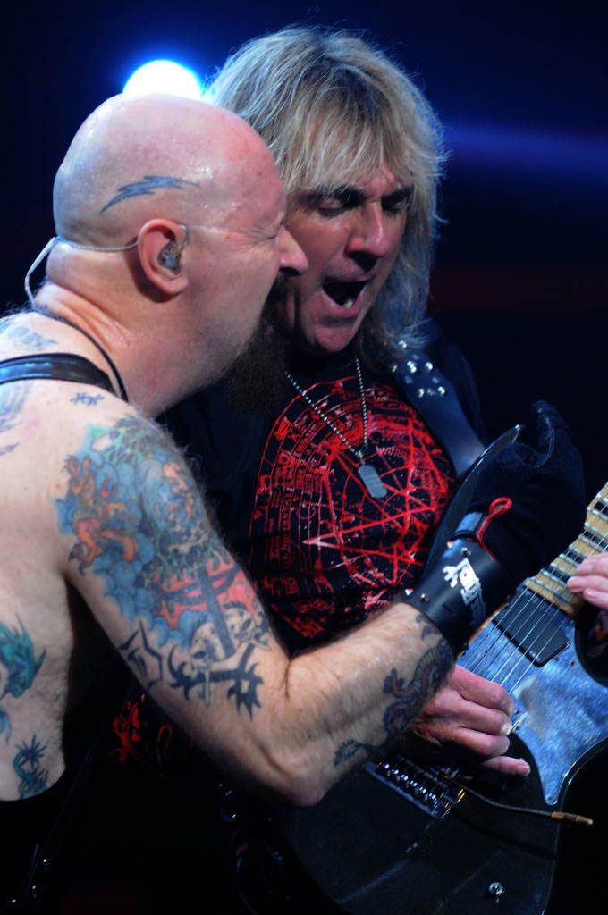 Rob Halford and Glenn Tipton of Judas Priest