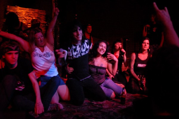 L.A. Guns featuring Tracii Guns at The Red Eyed Fly, Austin, Texas