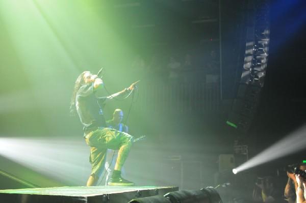 Lamb Of God at the Austin Music Hall, Austin, Texas