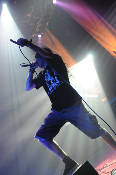Lamb Of God at the Austin Music Hall, Austin, Texas