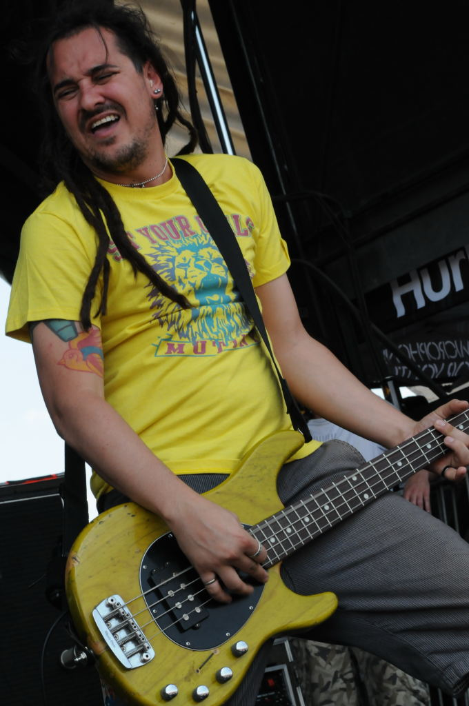 Roger Manganelli of Less Than Jake at Warped Festival
