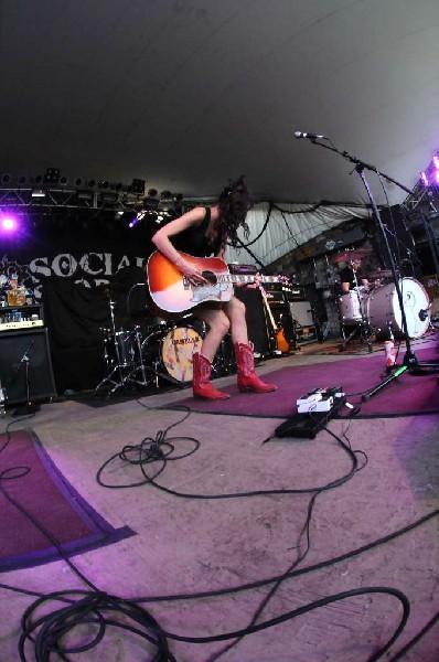 Lindi Ortega at Stubb's BarBQ, Austin, Texas 05/06/12