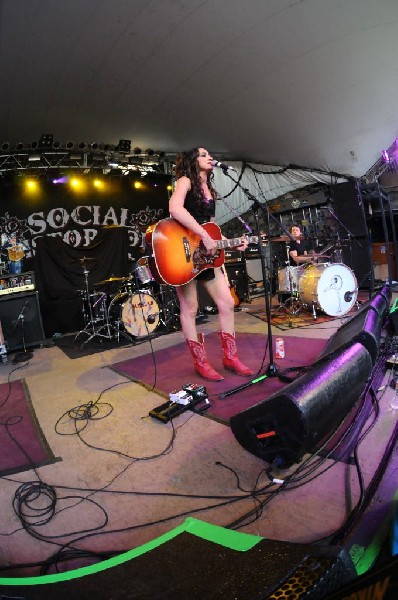Lindi Ortega at Stubb's BarBQ, Austin, Texas 05/06/12