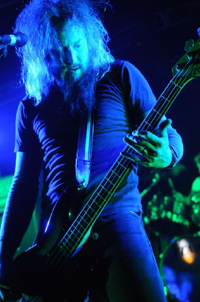 Mastodon at La Zona Rosa, Austin, Texas 10/25/11 - photo by jeff barringer