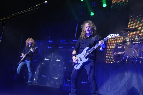 Megadeth at ACL Live at the Moody Theater, Austin, Texas 03/03/2012