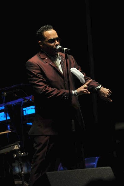 Morris Day and The Time at Austin Urban Music Festival, Butler Park, Austin