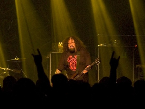 Napalm Death at La Zona Rosa, Austin, Tx