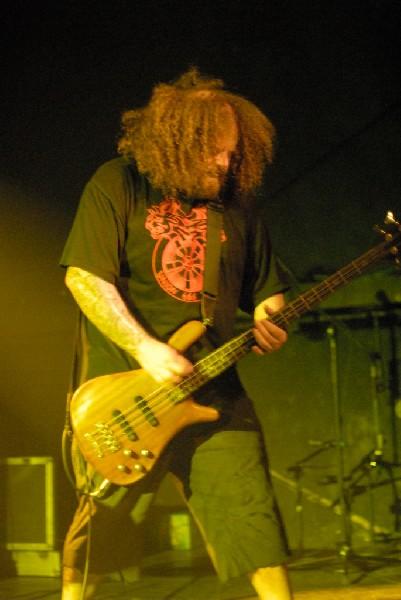 Napalm Death at La Zona Rosa, Austin, Tx