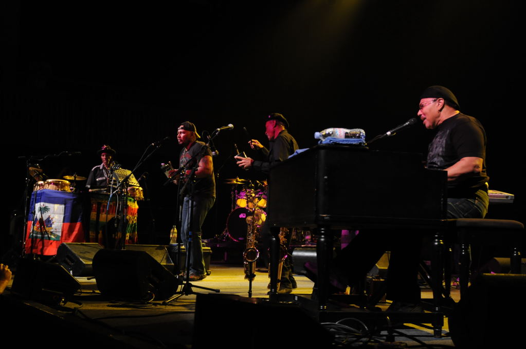 Neville Brothers  at the Austin Music Hall