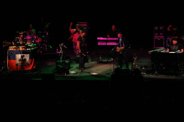 The Neville Brothers at the Austin Music Hall