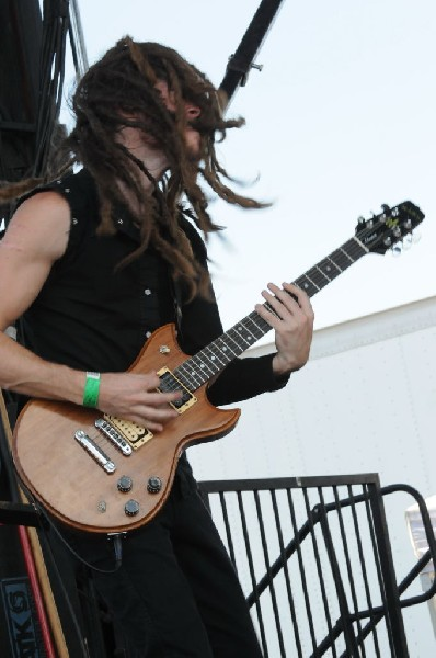 Nothing More at Warped Festival, San Antonio, Texas