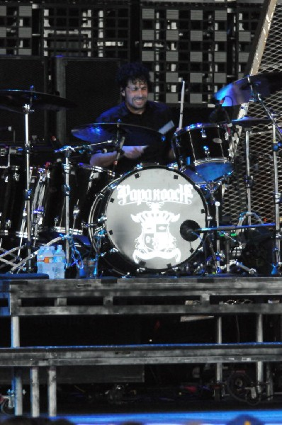 Papa Roach at the Verizon Wireless Amphitheater, Selma, Texas