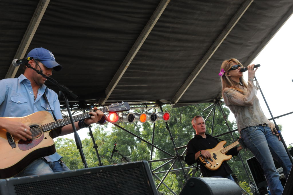 Paula Nelson on the BMI Stage at ACL