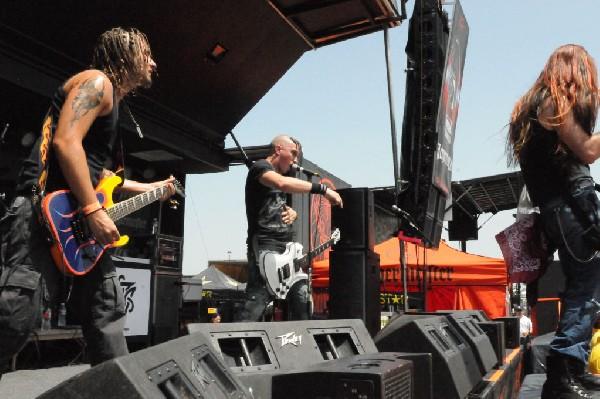 Powderburn at the Mayhem Festival Verizon Wireless Amphitheater