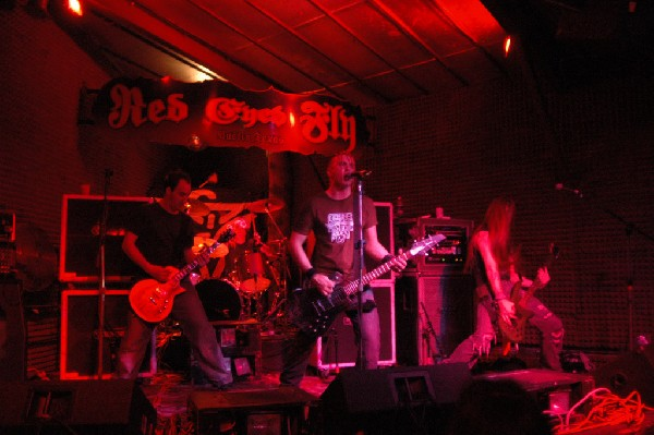 Powderburn at The Red Eyed Fly, Austin, Tx