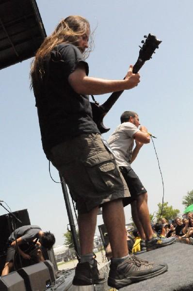 The Red Chord at the Mayhem Festival Verizon Wireless Amphitheater