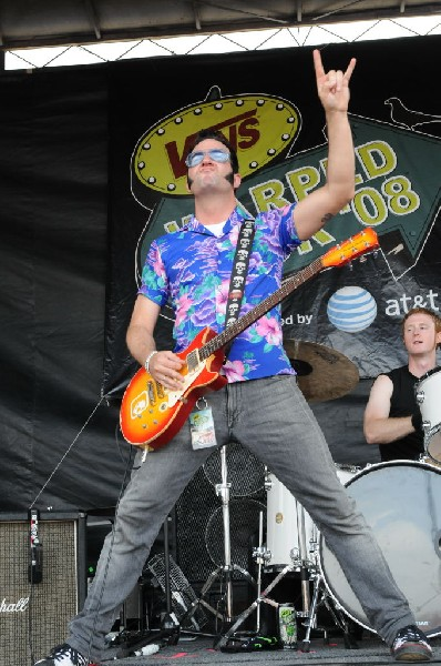 Reel Big Fish on the Route 66 Stage, Warped Tour, Verizon Wireless Amphithe
