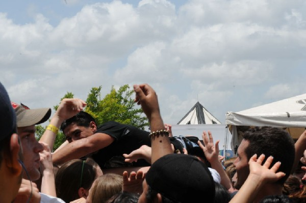 Relient K on the Highway 1 Stage, Warped Tour, Verizon Wireless Amphitheate