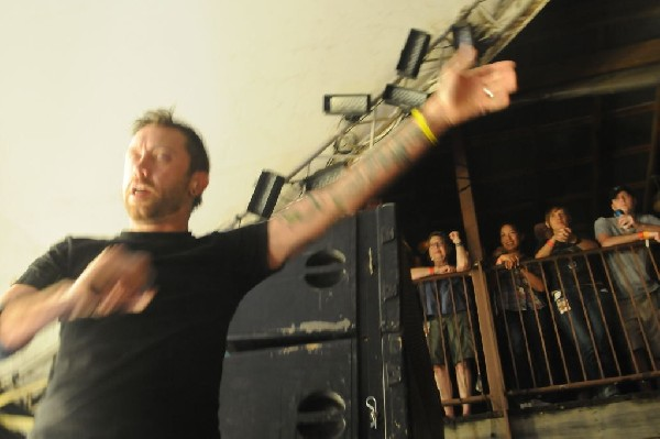 Rise Against at Stubb's BarBQ, Austin, Texas April 19, 2011 - photo by Jeff