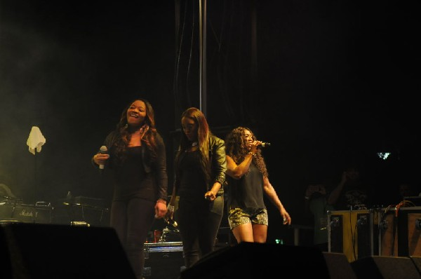 SWV - Sisters With Voices at Austin Urban Music Festival, Butler Park, Aust