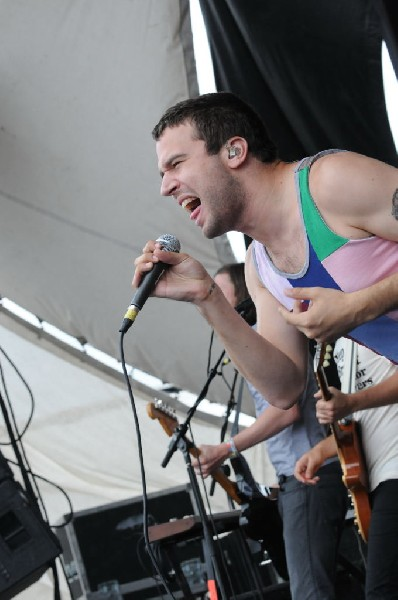 Say Anything on the Highway 1 Stage, Warped Tour, Verizon Wireless Amphithe