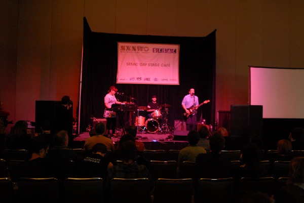 Say Hi to Your Mom SXSW gig on the Day Stage at the Convention Center in Au
