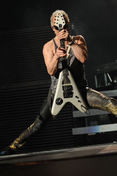 The Scorpions at the AT&T Center in San Antonio, Texas 07/23/10 - photo