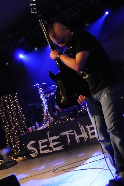 Seether at Stubb's BarBQ, Austin, Texas