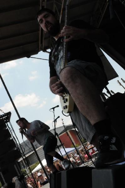 Senses Fail at Warped Festival, San Antonio, Texas