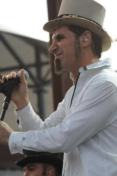 Serj Tankian at Ozzfest 2008, Pizza Hut Park, Frisco, Texas