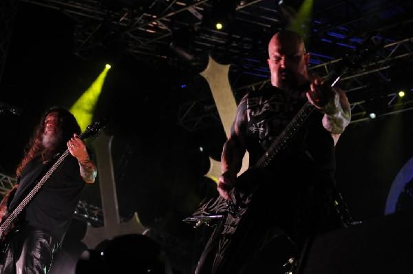 Slayer - Austin Texas 11/10/2013 Auditorium Shores