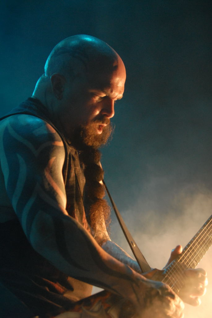 Kerry King of Slayer in Selma Texas, 2007