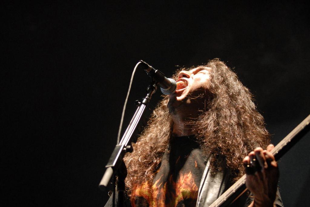 Kerry King of Slayer at the Verizon Wireless Amphitheater