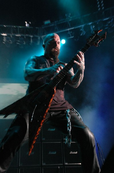 Kerry King of Slayer at the Verizon Wireless Amphitheater