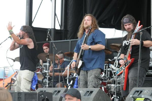 Southern Assault at Mayhem Festival 2012 Gexa Energy Pavilion Dallas Texas