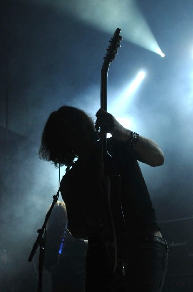 Testament at Emo's East, Austin, Texas 10/29/11 - photo by Jeff Barringer