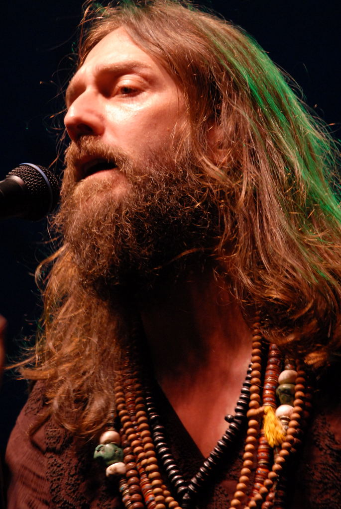 Chris Robinson of The Black Crowes at The Backyard
