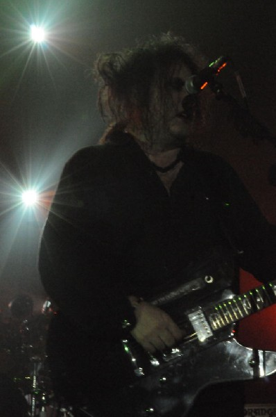 The Cure at the Austin Music Hall, Austin, Texas