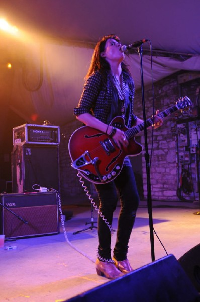 The Kills at ACL Fest 2008 Afterparty