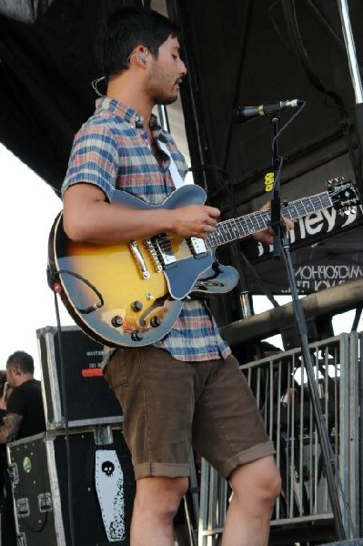 Thrice at Warped Festival, San Antonio, Texas