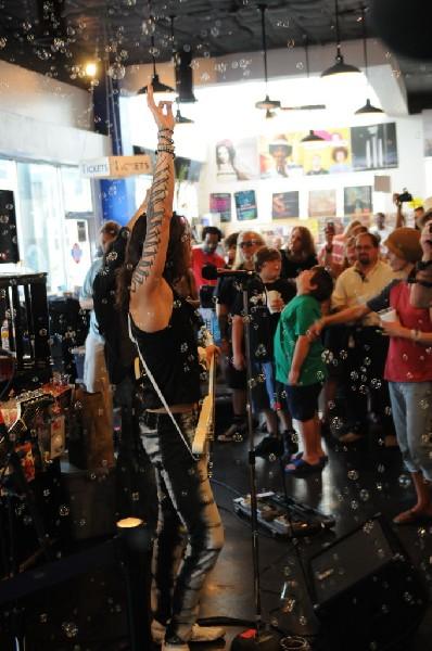 Triple Cobra at Waterloo Records instore, Austin, Texas
