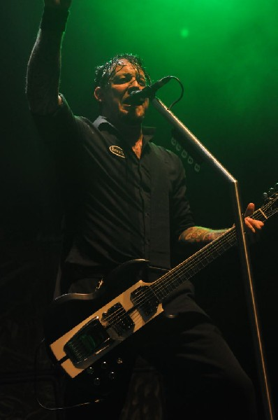 Volbeat at ACL Live at the Moody Theater, Austin, Texas 03/03/2012