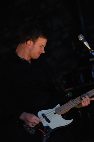 White Lies at Stubb's BarBQ, SXSW 2009, Austin, Texas