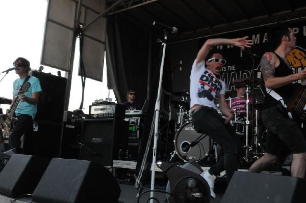 White Tie Affair at Warped Festival, San Antonio, Texas